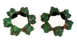 Keltské bronzové nánožníky