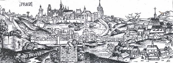 Nejstarší vyobrazení Prahy