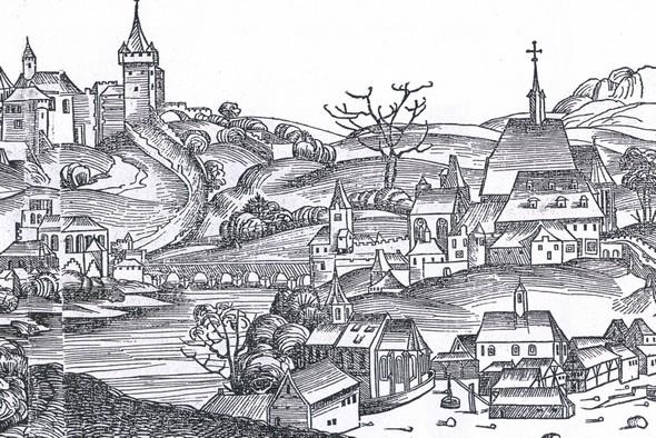 Nejstarší vyobrazení Prahy 2