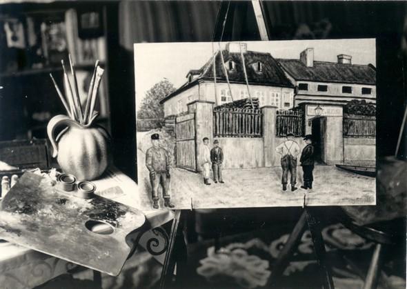 Hostinec U Hejduků v roce 1909