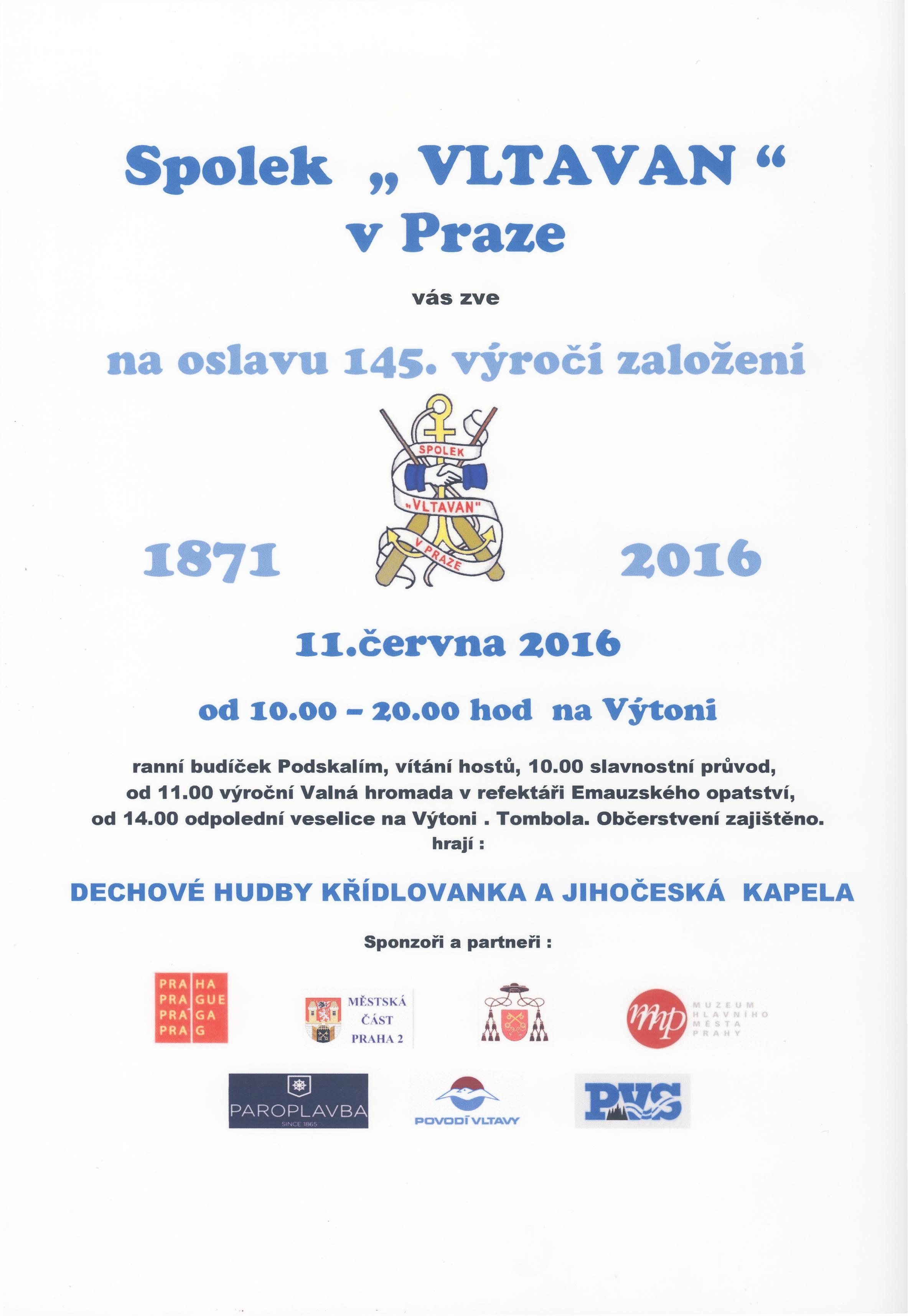 Plakát na výročí